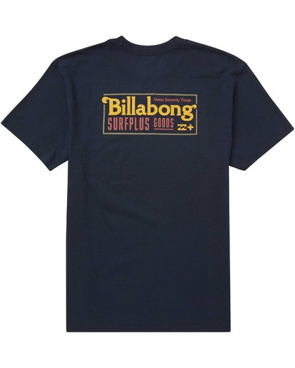 1 Bullard T-Shirt Blue M406QBBU Billabong