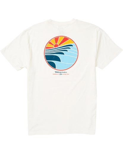 1 Corduroy Eco-Friendly Graphic T-Shirt White M406SBCO Billabong