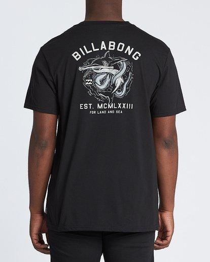 2 Assault Short Sleeve T-Shirt Black M4141BAS Billabong