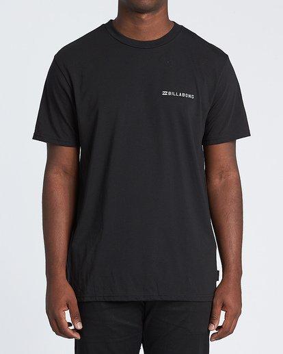 0 Assault Short Sleeve T-Shirt Black M4141BAS Billabong