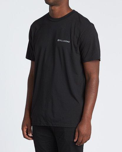 1 Assault Short Sleeve T-Shirt Black M4141BAS Billabong