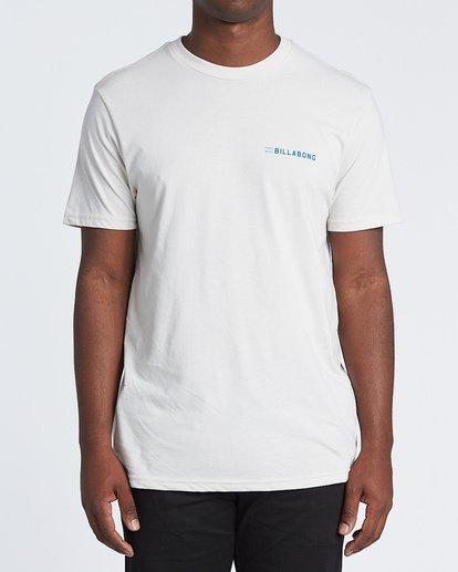 0 Assault Short Sleeve T-Shirt Brown M4141BAS Billabong