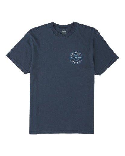 3 Claws Short Sleeve T-Shirt Blue M4141BCL Billabong