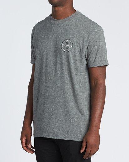 1 Claws Short Sleeve T-Shirt Grey M4141BCL Billabong