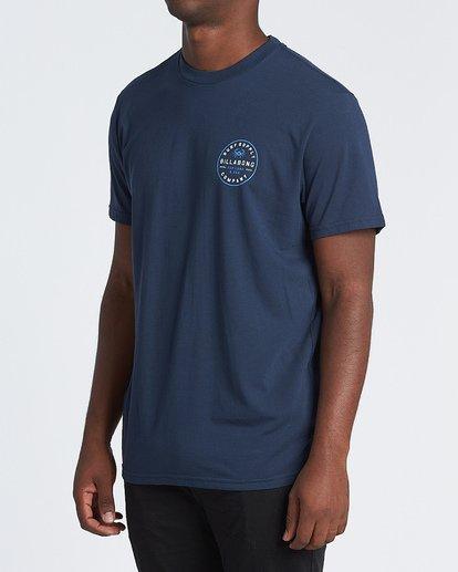 1 Claws Short Sleeve T-Shirt Blue M4141BCL Billabong