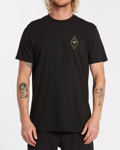 0 Beyond Short Sleeve T-Shirt Black M4142BCO Billabong