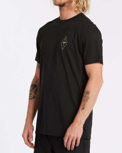 1 Beyond Short Sleeve T-Shirt Black M4142BCO Billabong