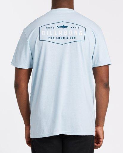 2 Diamond Adiv Short Sleeve T-Shirt Blue M4142BDI Billabong