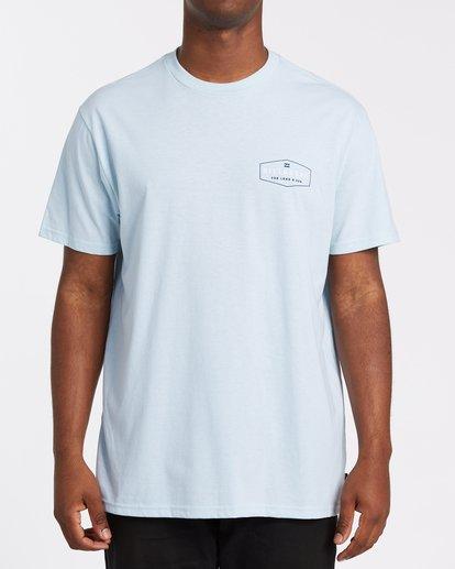 0 Diamond Adiv Short Sleeve T-Shirt Blue M4142BDI Billabong
