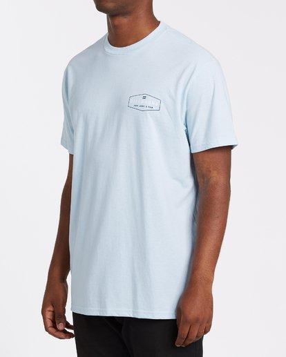 1 Diamond Adiv Short Sleeve T-Shirt Blue M4142BDI Billabong