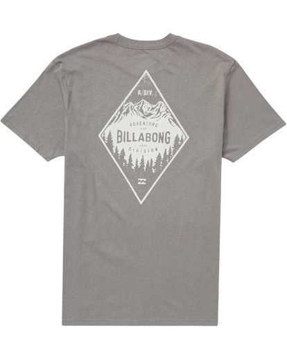 1 Glacier Tee Grey M414QBGL Billabong