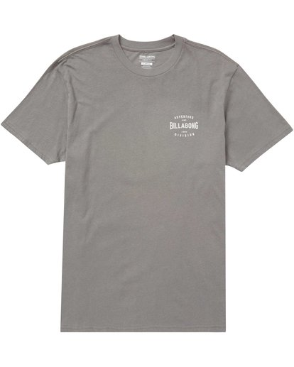 0 Glacier Tee Grey M414QBGL Billabong