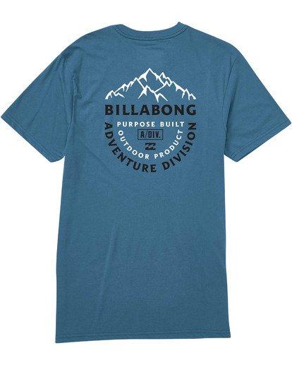 1 Mountaineer Tee Blue M414TBMO Billabong