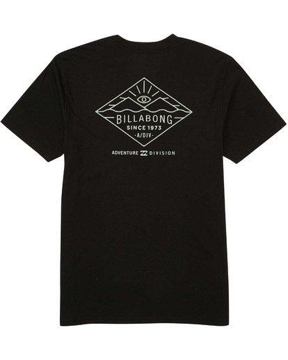 1 Watcher T-Shirt Black M414TBWA Billabong
