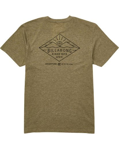 1 Watcher Tee Green M414TBWA Billabong