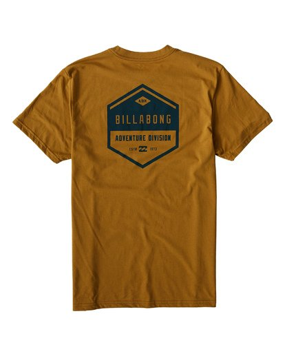 1 Badge T-Shirt Yellow M414VBBE Billabong