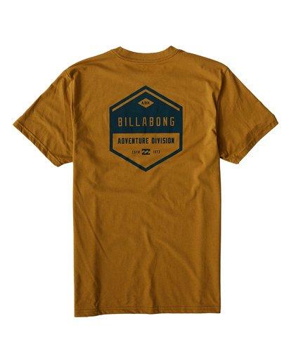 1 Badge T-Shirt Yellow M414VBBE Billabong