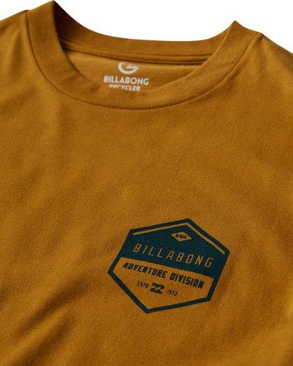2 Badge T-Shirt Yellow M414VBBE Billabong