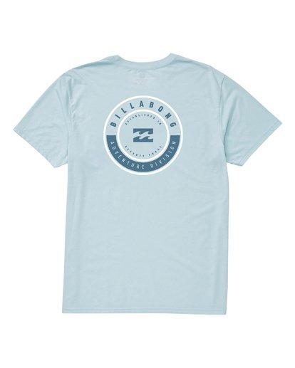 1 Rotor Short Sleeve T-Shirt Blue M414VBRR Billabong