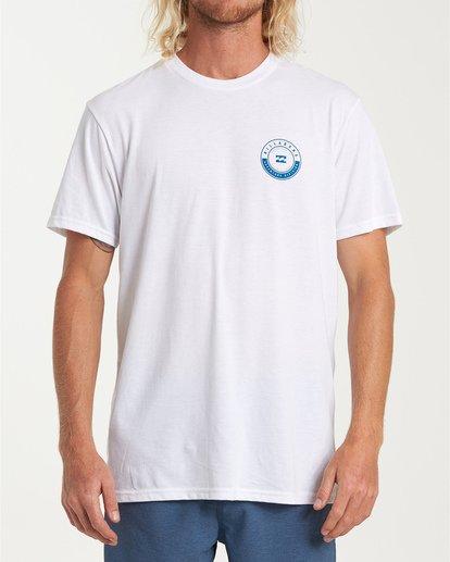 0 Rotor Short Sleeve T-Shirt White M414WBRR Billabong