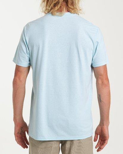 2 Stacked Short Sleeve T-Shirt Blue M414WBSD Billabong