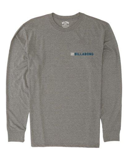 3 Assault Long Sleeve T-Shirt Grey M4151BAS Billabong