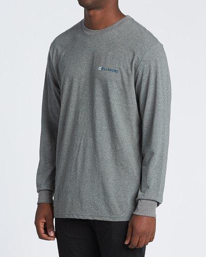 1 Assault Long Sleeve T-Shirt Grey M4151BAS Billabong