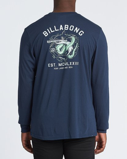 2 Assault Long Sleeve T-Shirt Blue M4151BAS Billabong