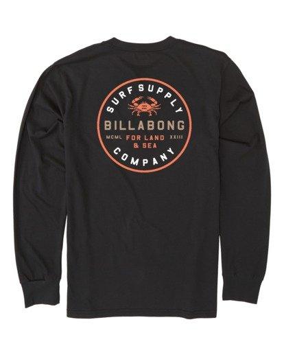 4 Claws Long Sleeve T-Shirt Black M4151BCL Billabong