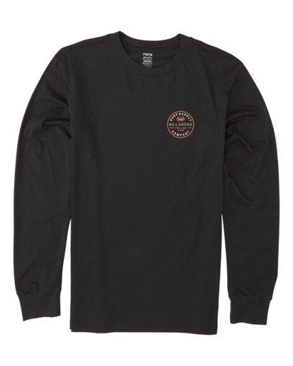 3 Claws Long Sleeve T-Shirt Black M4151BCL Billabong