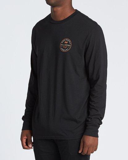 1 Claws Long Sleeve T-Shirt Black M4151BCL Billabong