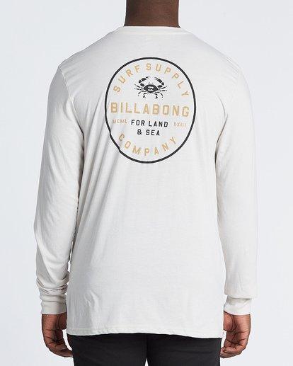 2 Claws Long Sleeve T-Shirt Brown M4151BCL Billabong