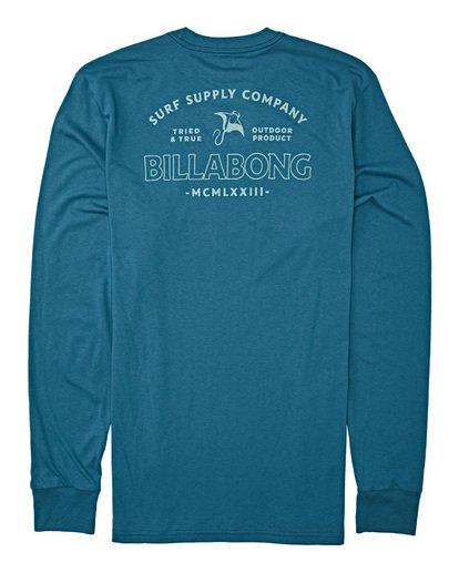 4 Beyond Long Sleeve T-Shirt Blue M4152BBE Billabong