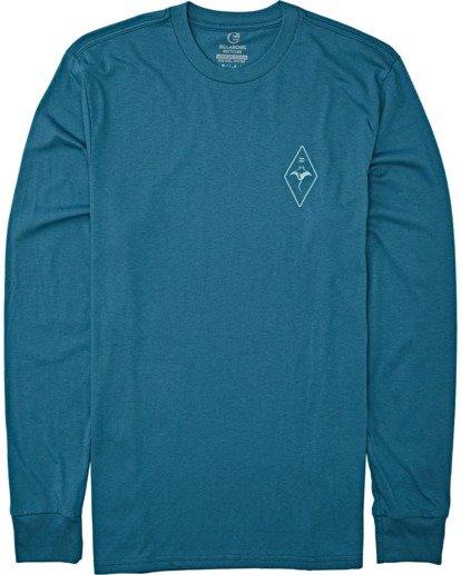 3 Beyond Long Sleeve T-Shirt Blue M4152BBE Billabong