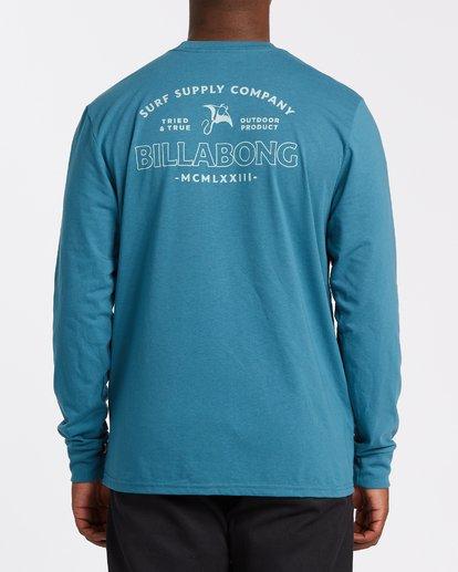 2 Beyond Long Sleeve T-Shirt Blue M4152BBE Billabong