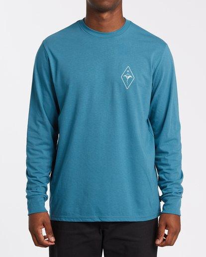 0 Beyond Long Sleeve T-Shirt Blue M4152BBE Billabong