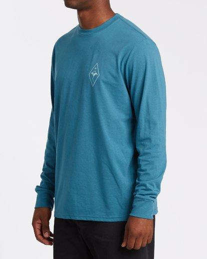 1 Beyond Long Sleeve T-Shirt Blue M4152BBE Billabong