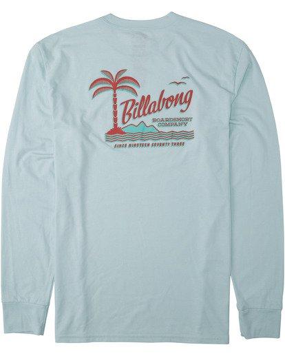 4 Illusion Long Sleeve T-Shirt Multicolor M4153BIL Billabong