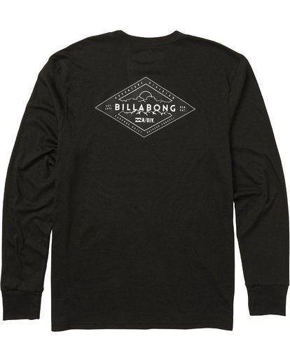 1 Avery Performance Long Sleeve Tee Black M415SBAV Billabong