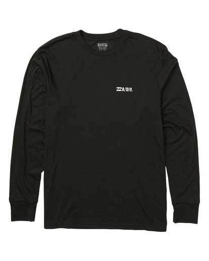 0 Avery Performance Long Sleeve Tee Black M415SBAV Billabong