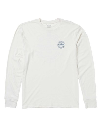 0 Emblem Performance Long Sleeve T-Shirt White M415SBEM Billabong