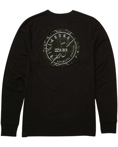 1 Breaker Long Sleeve Tee Black M415TBBR Billabong