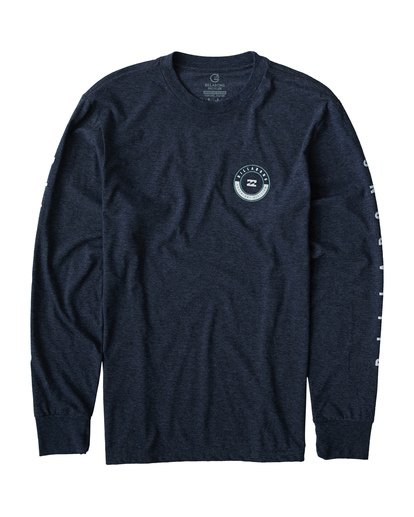 0 Rotor Long Sleeve T-Shirt Blue M415VBRR Billabong