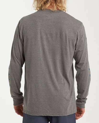 2 Rotor Long Sleeve T-Shirt Grey M415WBRR Billabong