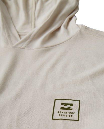 1 Stacked Long Sleeve T-Shirt White M416VBSD Billabong