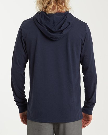 2 Stacked Long Sleeve T-Shirt Blue M416WBSD Billabong