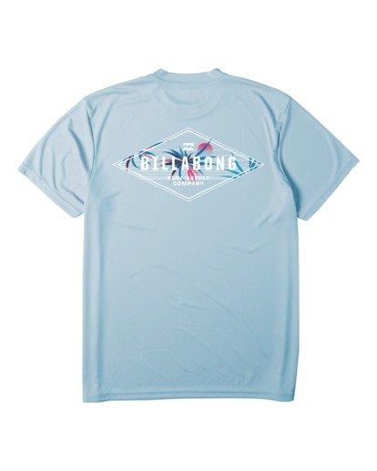 4 Surf Supply UV Short Sleeve Surf Shirt Blue M4172BSS Billabong