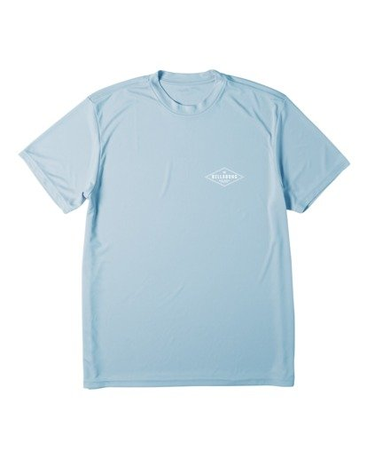 3 Surf Supply UV Short Sleeve Surf Shirt Blue M4172BSS Billabong