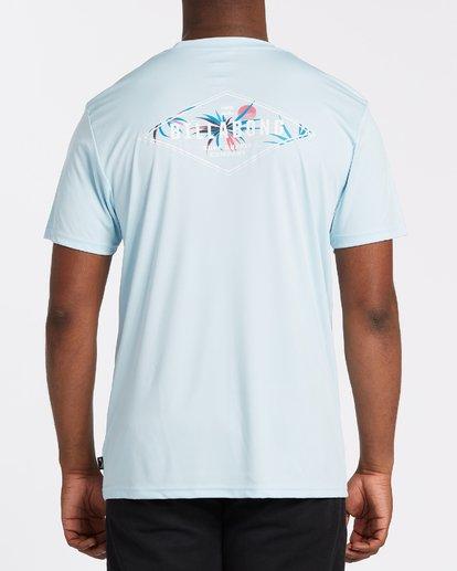 2 Surf Supply UV Short Sleeve Surf Shirt Blue M4172BSS Billabong