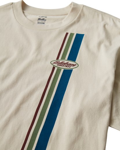 1 97 Stripe T-Shirt White M421VBPS Billabong